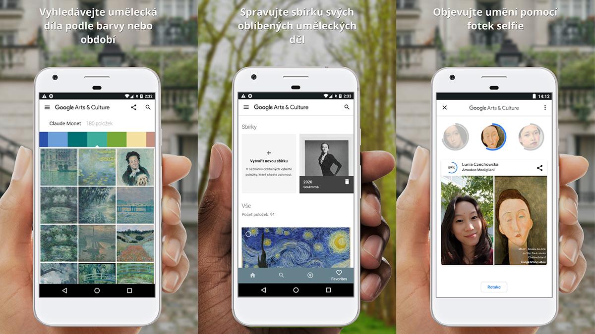 """Google Arts & Culture získává umělecké """"fotomrvítko"""""""