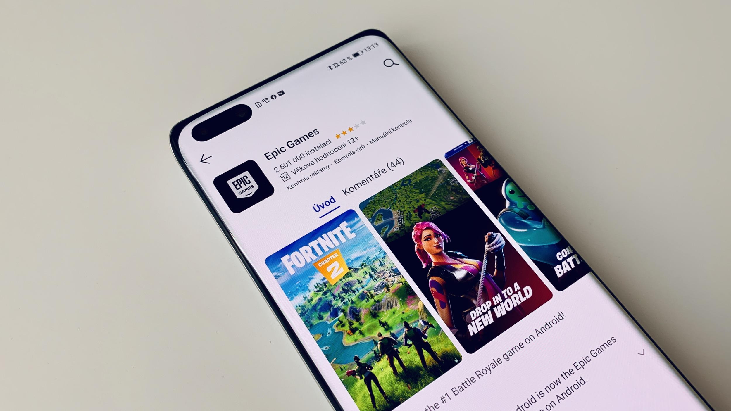 Fortnite je konečně dostupný v Obchodě Google Play