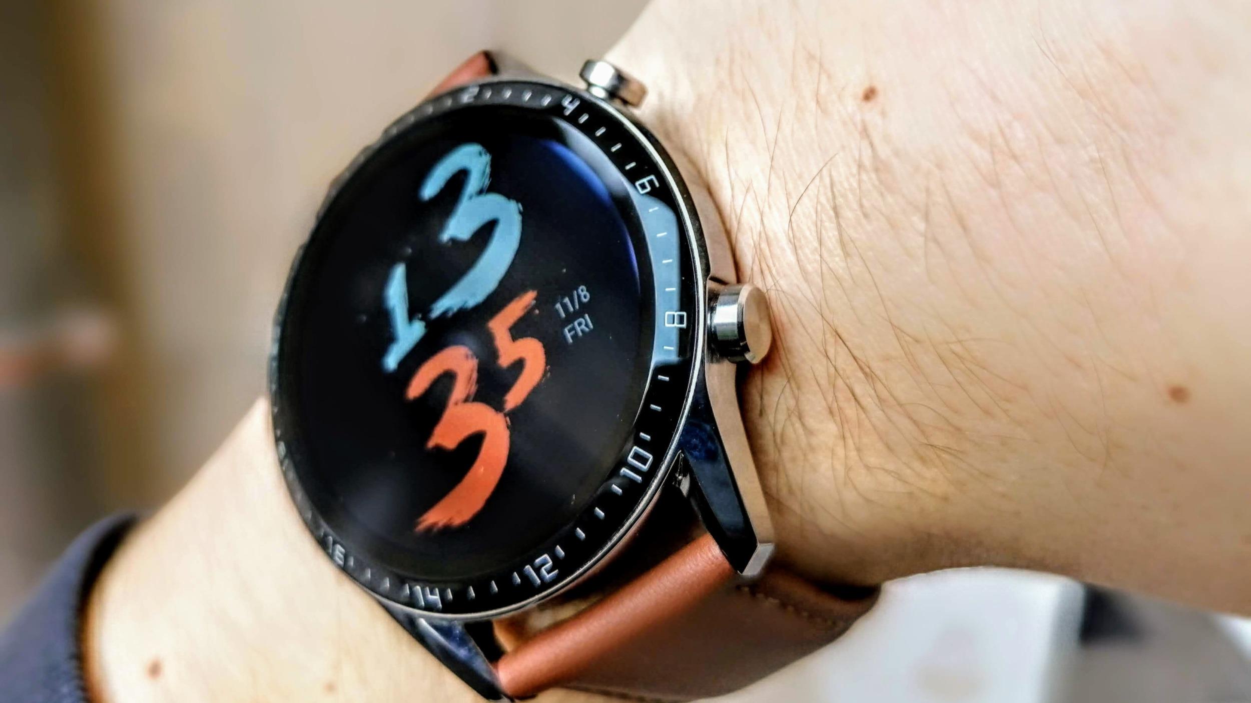 Huawei Watch GT2 nově podporují SpO2