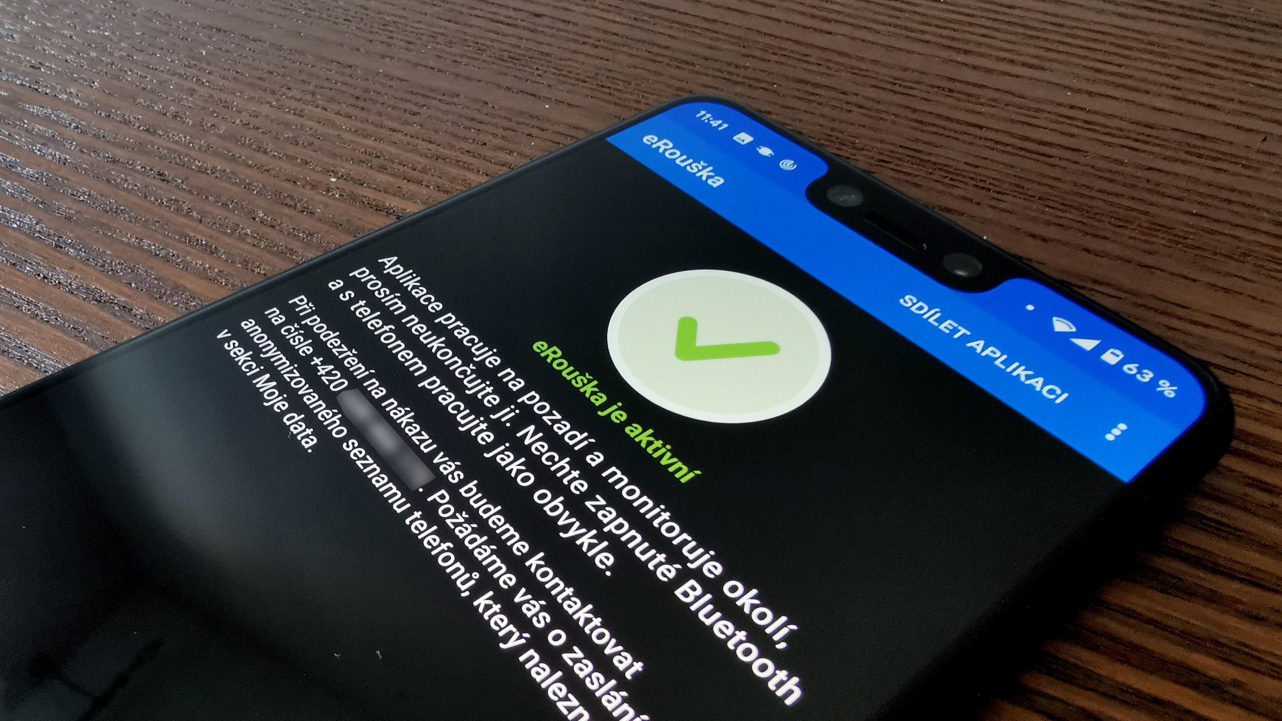 Aplikaci eRouška je nově dostupná pro iOS [aktualizováno]