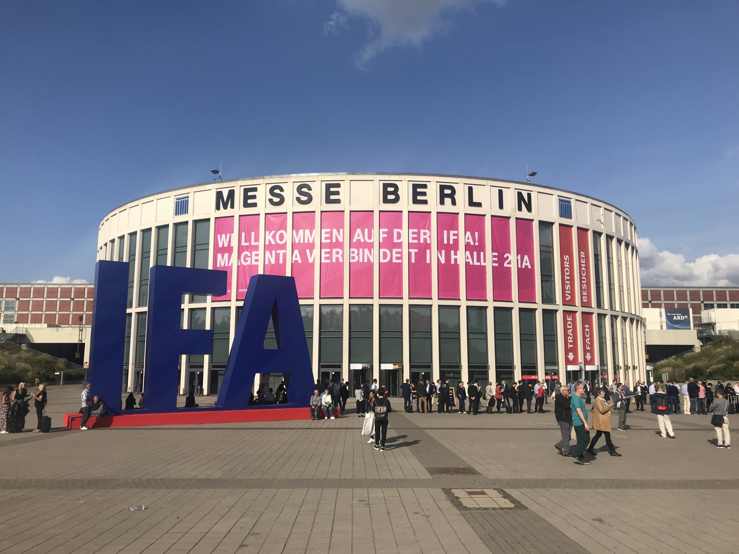 Veletrh IFA 2020 v Berlíně letos změní koncept, bude zřejmě online