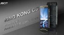 Pět důvodů ke koupi Cubot King Kong CS – první outdoor Android 10 telefon na světě [sponzorovaný článek]