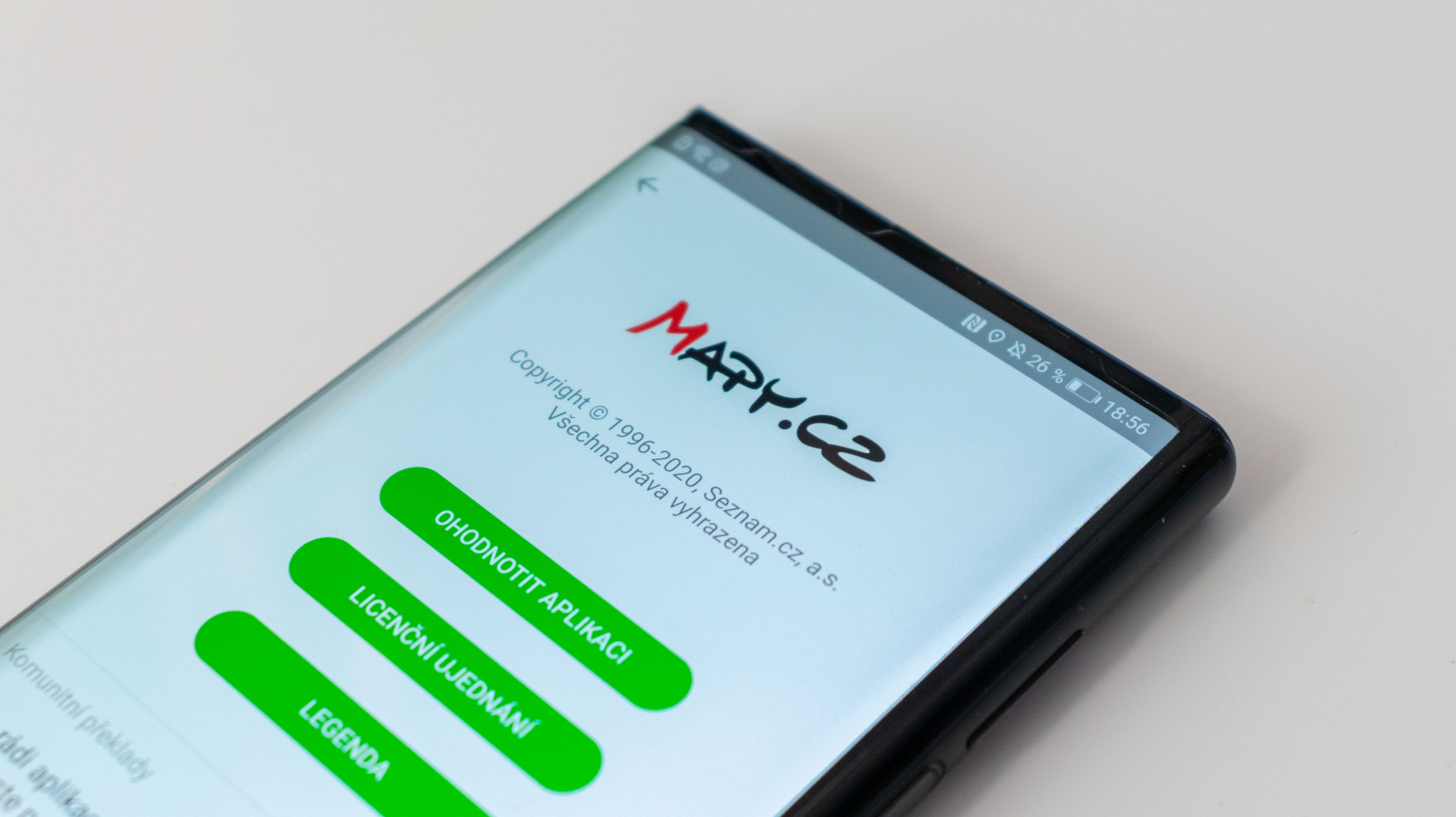Mapy.cz přináší v nové aktualizaci synchronizaci historie hledání