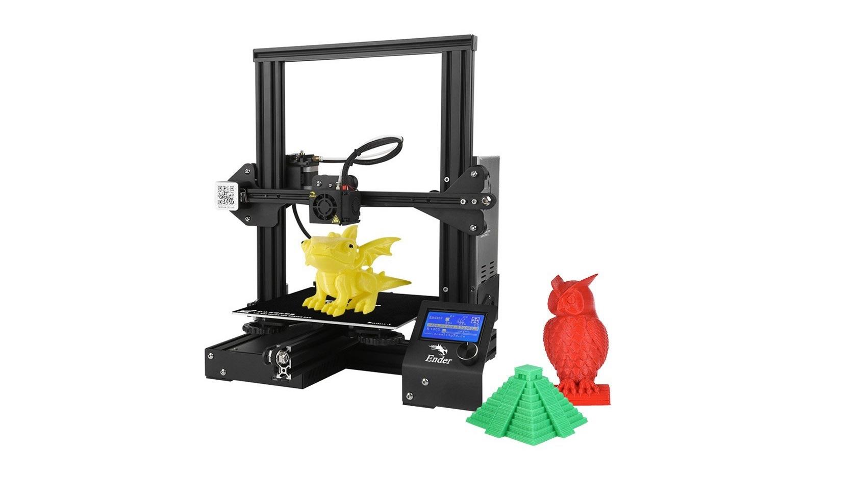 3D tiskárna Creality Ender-3 nyní v akci na Cafago.com [sponzorovaný článek]