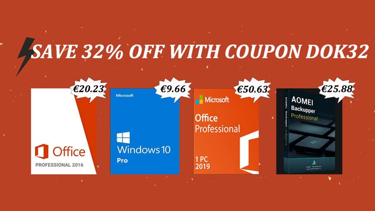 Office 2016 a Windows 10 za pár korun [sponzorovaný článek]
