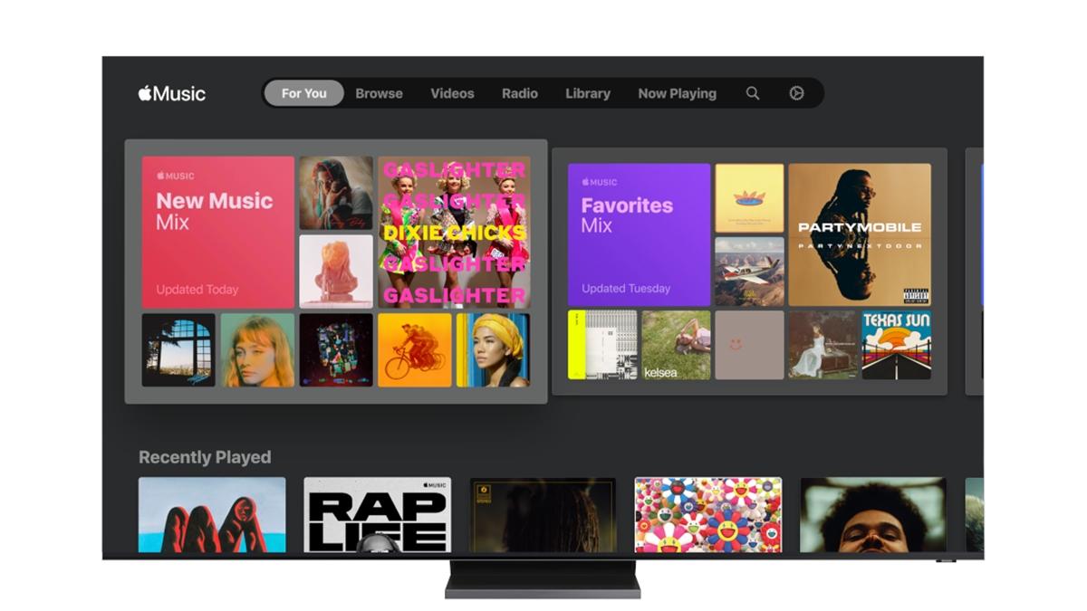 Samsung poprvé udělal radost jablíčkářům, Apple Music míří na jeho chytré televizory
