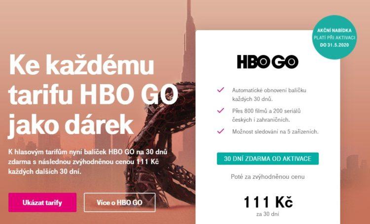 zdarma HBO Go