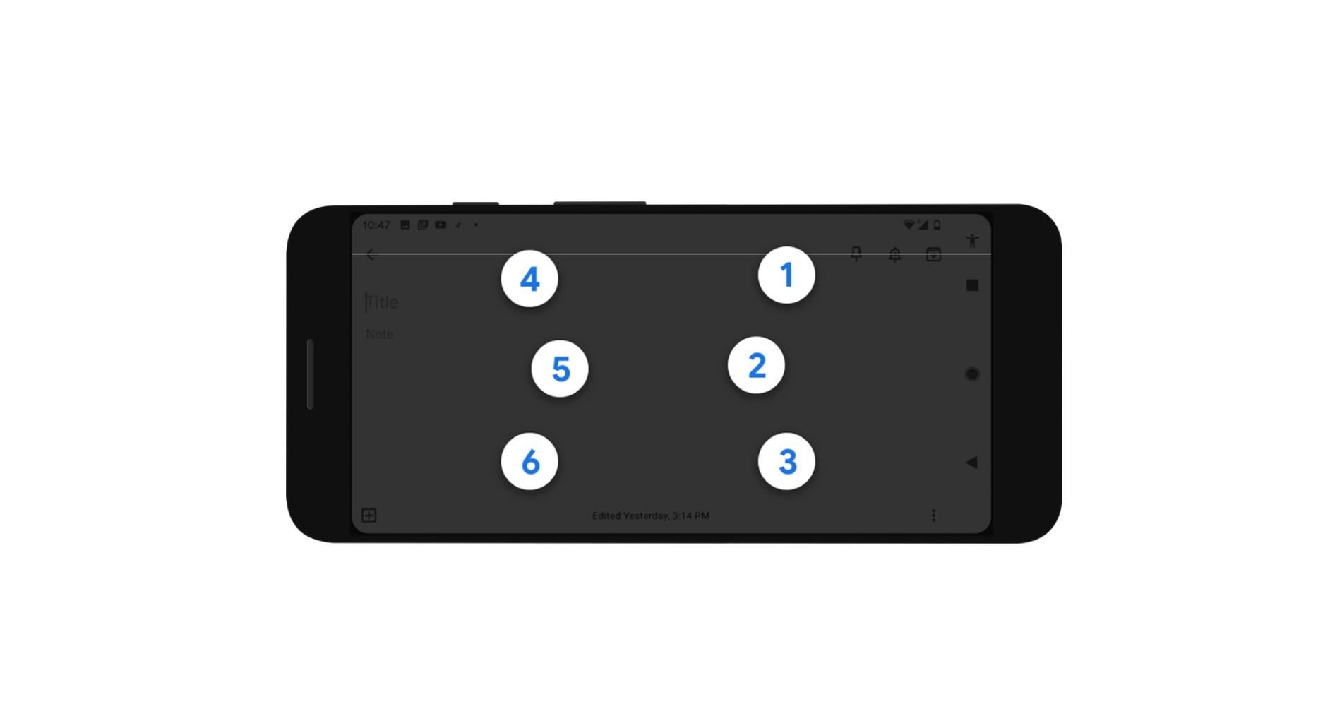 Google představil klávesnici pro psaní Braillovým písmem [Android]