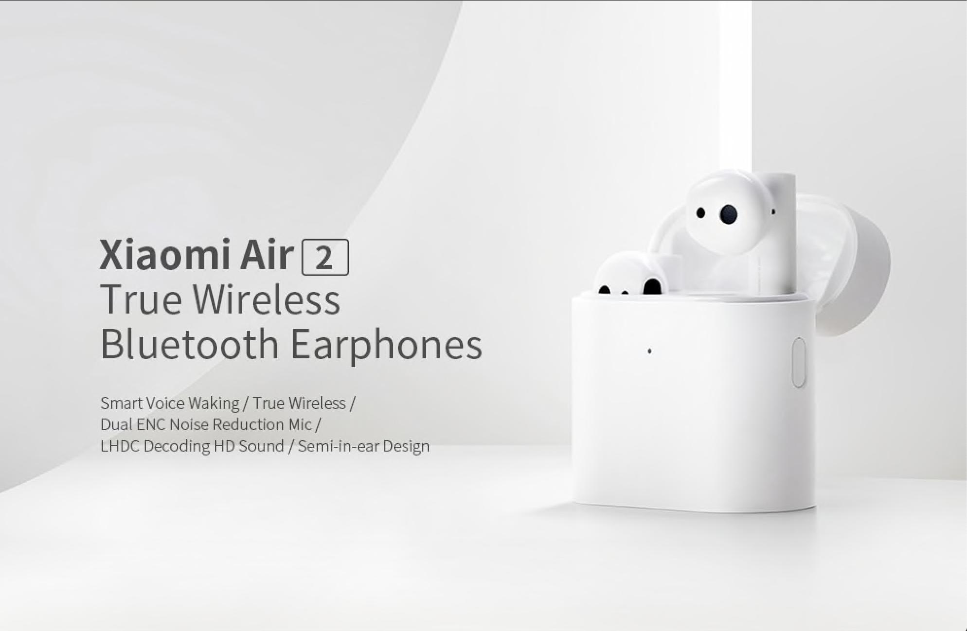 Bezdrátová sluchátka Xiaomi Air 2S za akční cenu! [sponzorovaný článek]