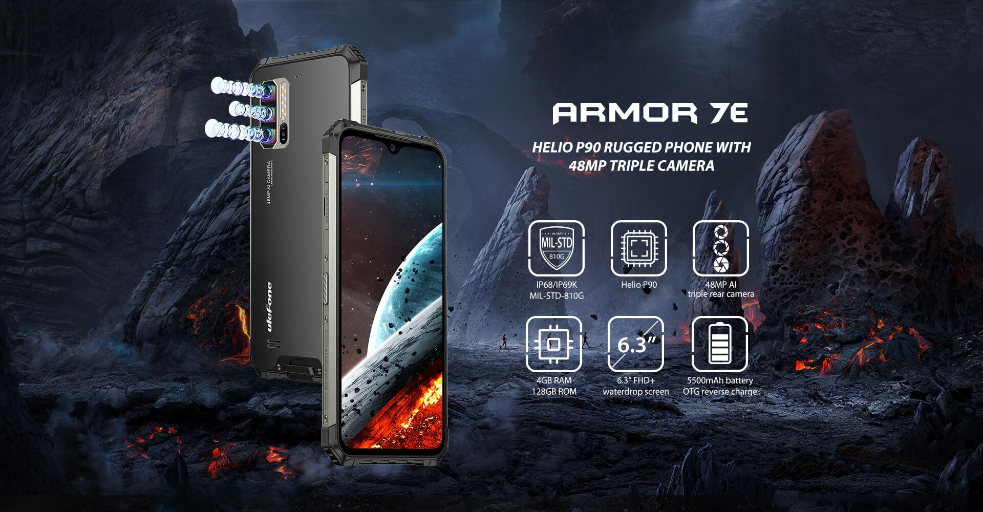 Ulefone spustil prodej modelu Armor 7E