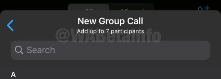 WhatsApp Group calls 768x275x