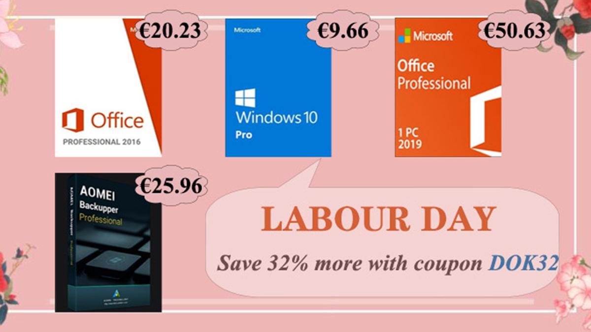 Jarní akce: Windows 10 za 9,66 EUR a Office 2016 Pro za 20,23 EUR na u2key [sponzorovaný článek]