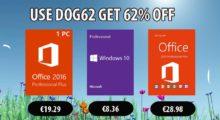 Masakr cen: Windows 10 Pro za 8,36 EUR, Office 2019 Pro za 28,97 EUR [sponzorovaný článek]