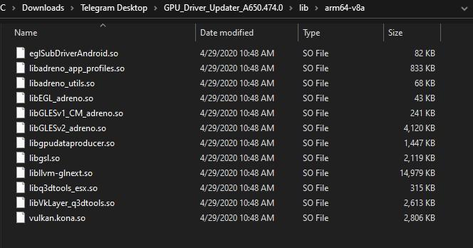 Xiaomi Adreno 650 GPU Driver Update 664x348x