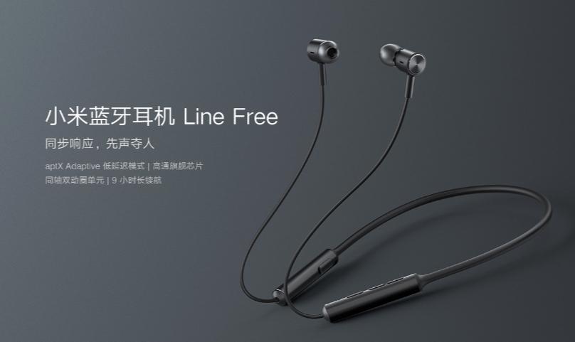 XiaomiMi Bluetooth Earphones Line Free Edition