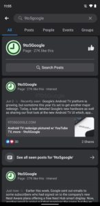 facebook android dark mode 2 1440x2960x