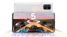 Samsung představil 5G verze modelů Galaxy A51 a A71