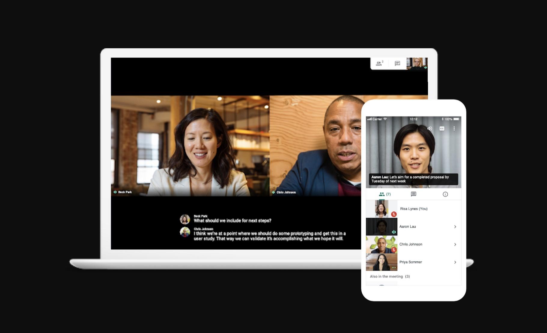 Google Meet nově pro všechny, premiová videokonference od Googlu