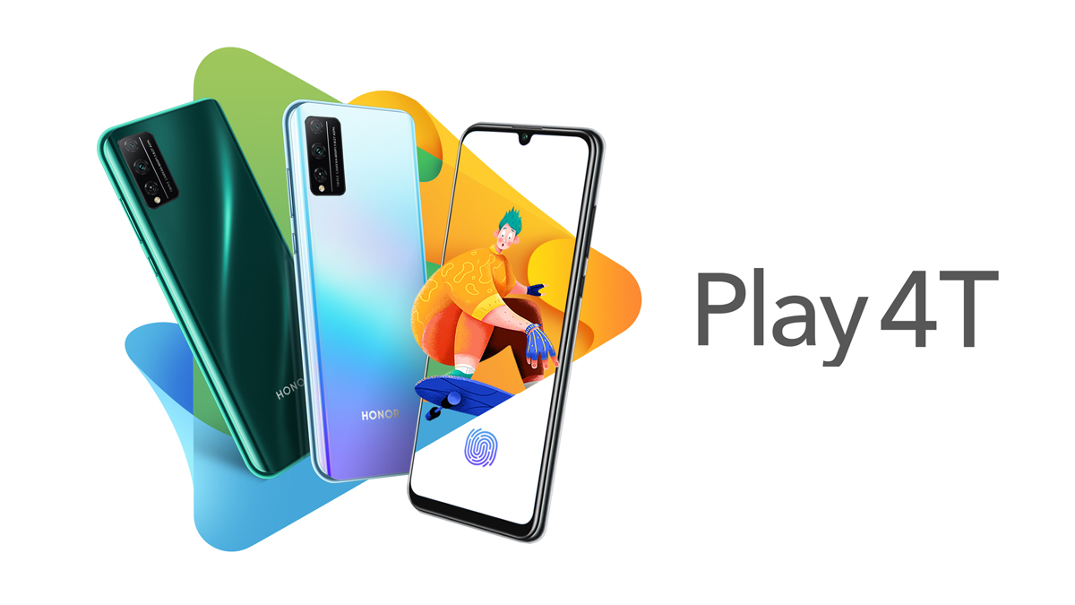Honor představil mobily Honor Play 4T Pro a Play 4T