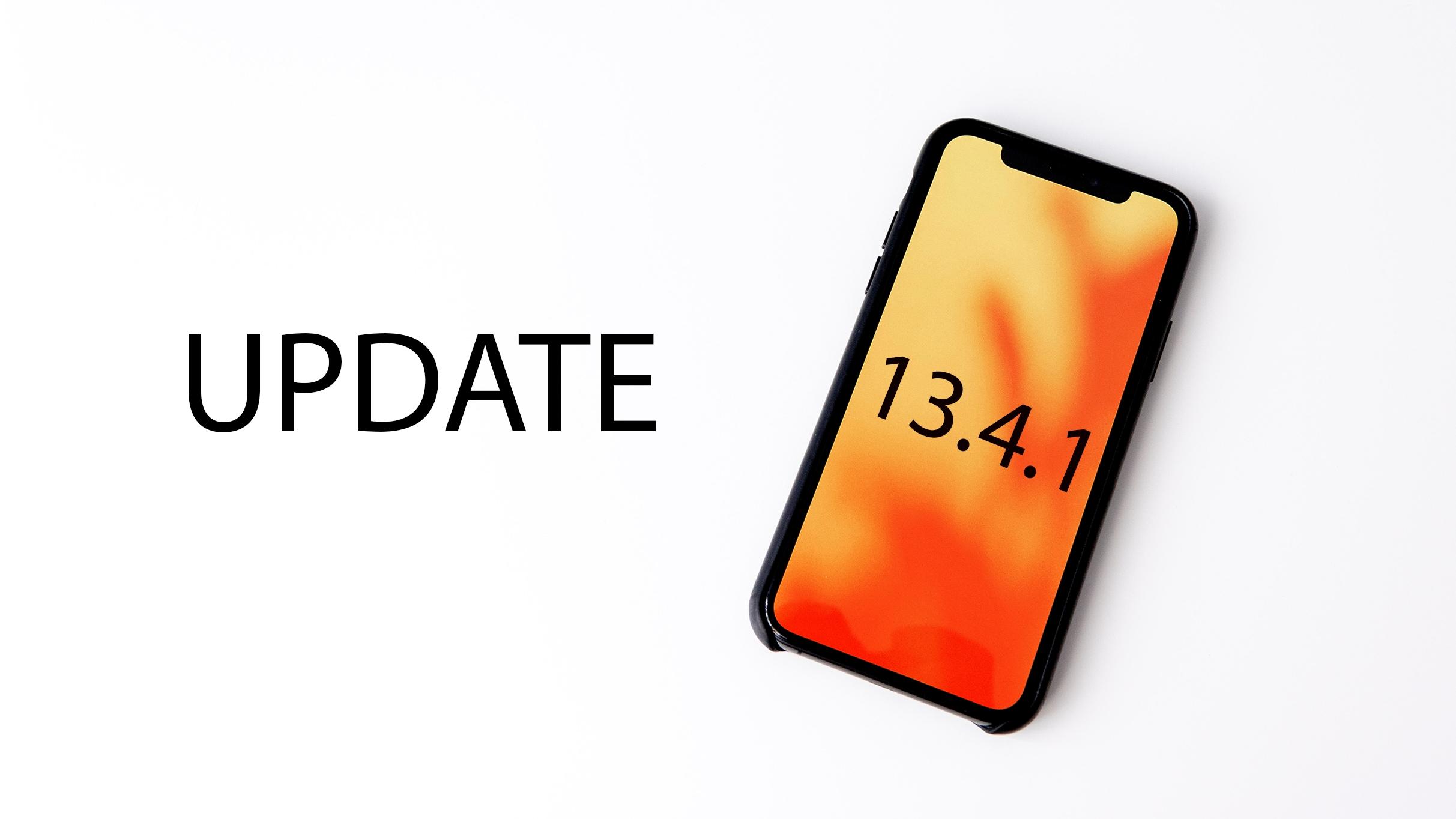 iOS 13.4.1 přináší opravu FaceTime a Bluetooth