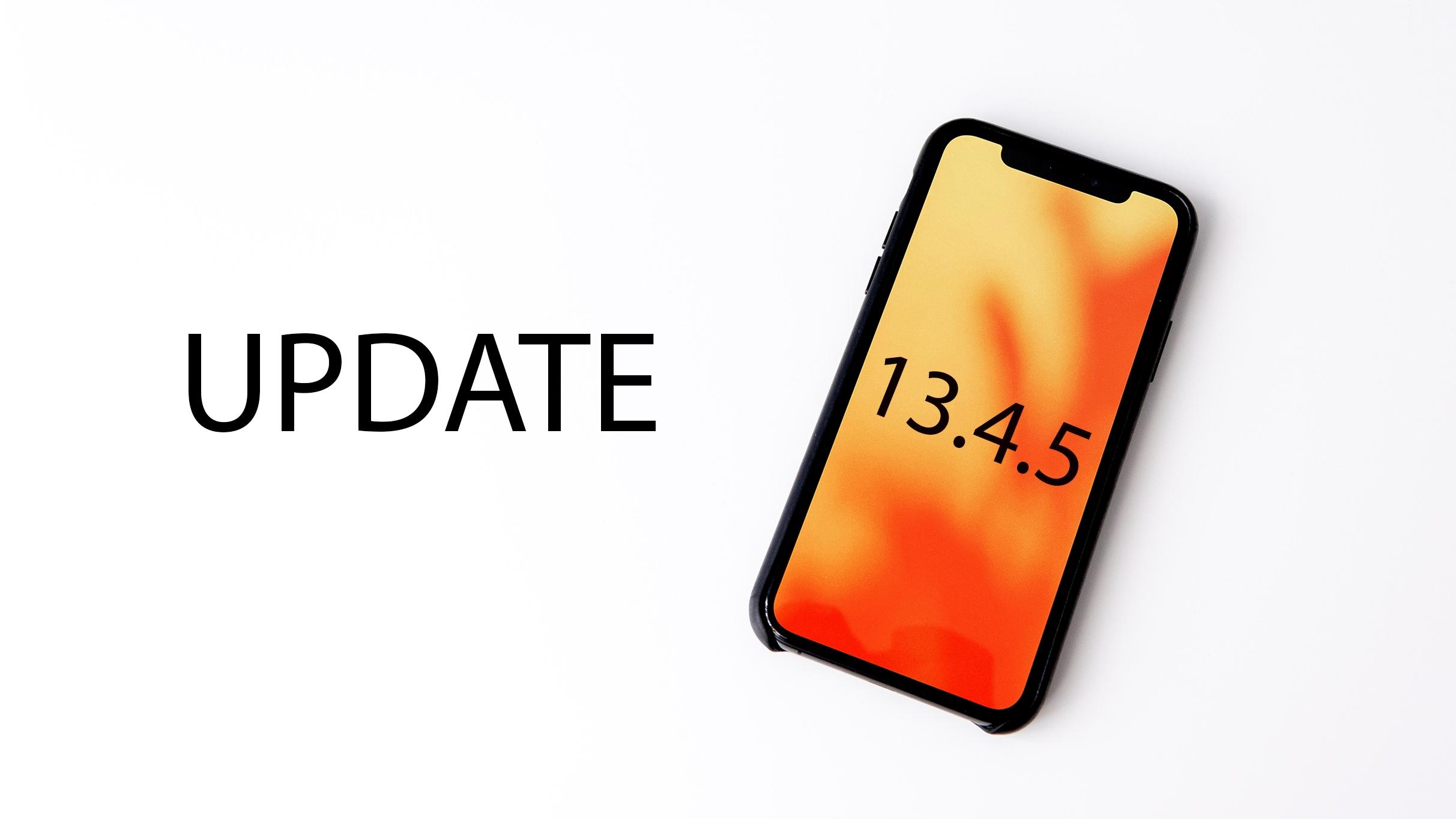 iOS 13.4.5 beta 1 přináší opravy chyb a funkci pro Apple Music