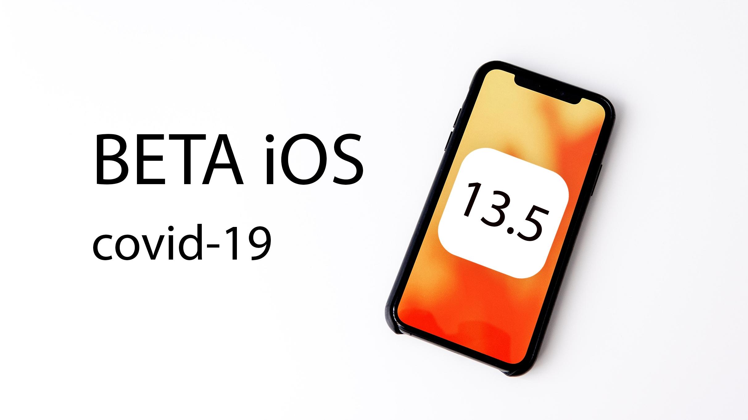 Apple vydal první betu iOS 13.5 s trasováním nemoci Covid-19