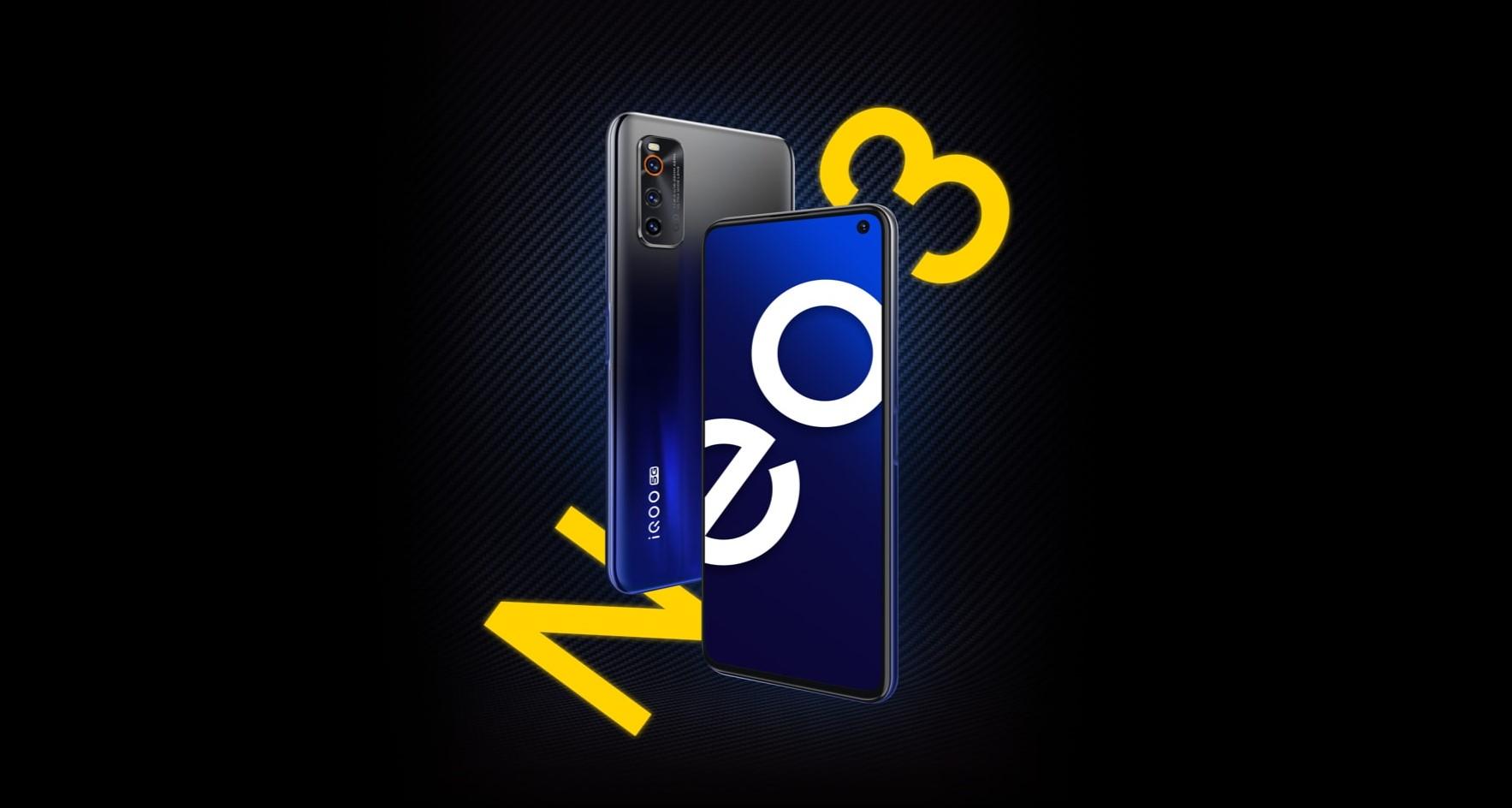 Novinka iQOO Neo 3 láká na 144Hz displej a 44W nabíjení