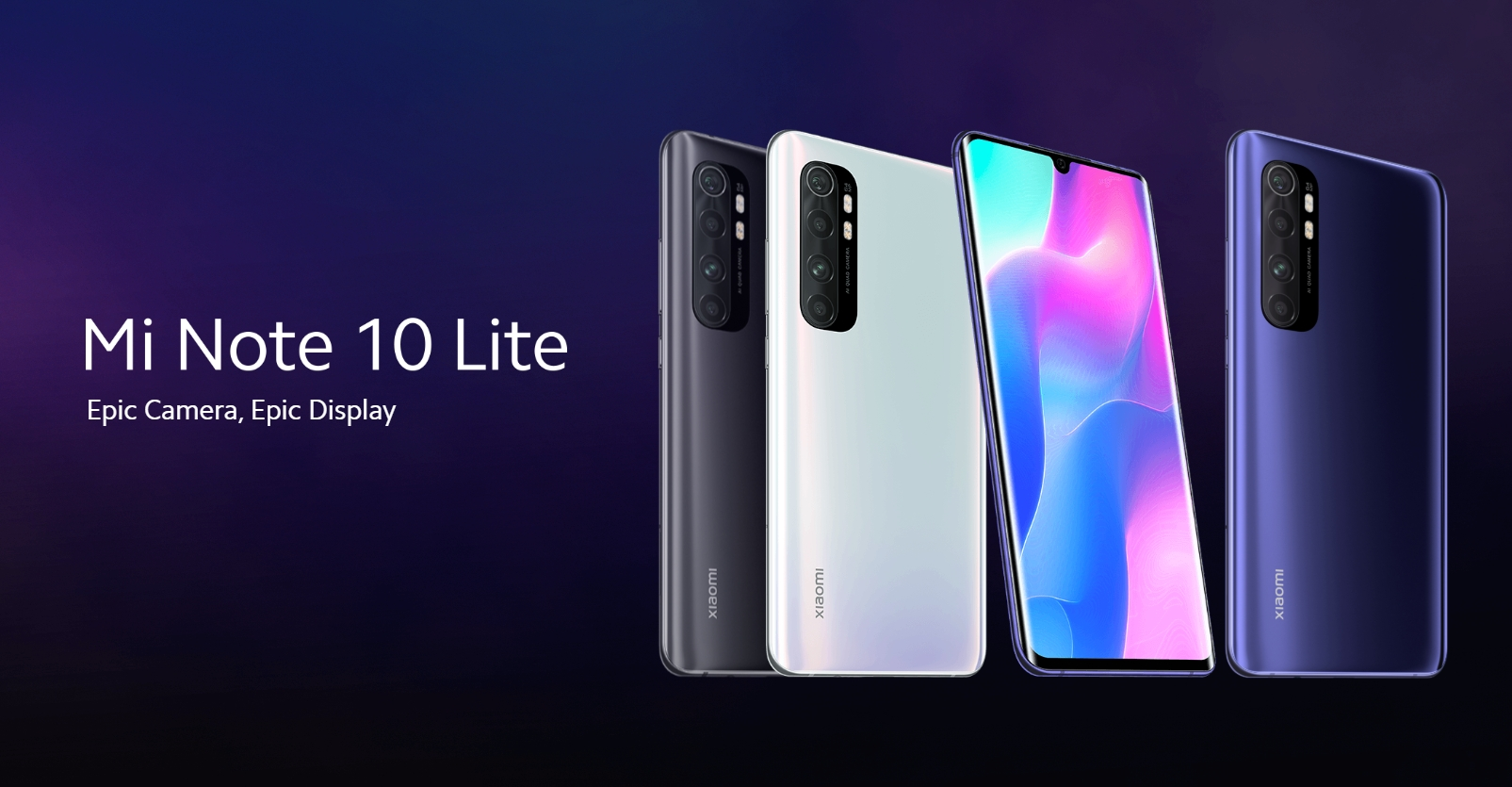 Xiaomi představilo Mi Note 10 Lite