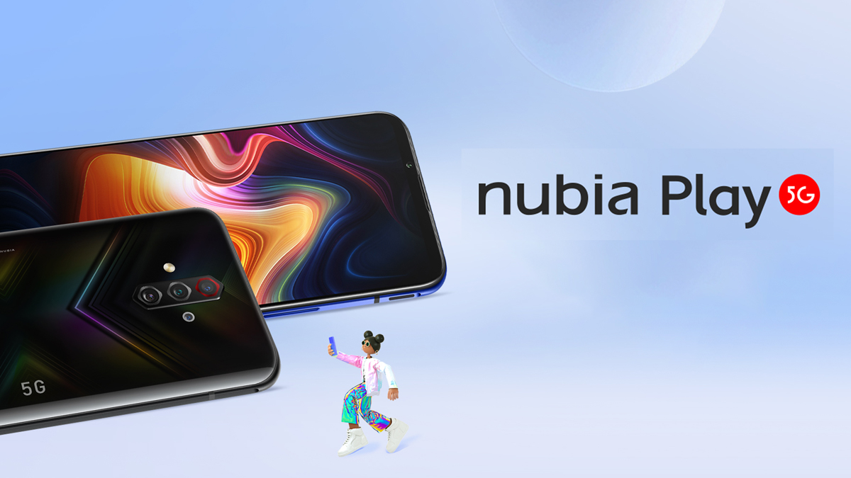 Nubia Play oficiálně, láká na 144Hz displej