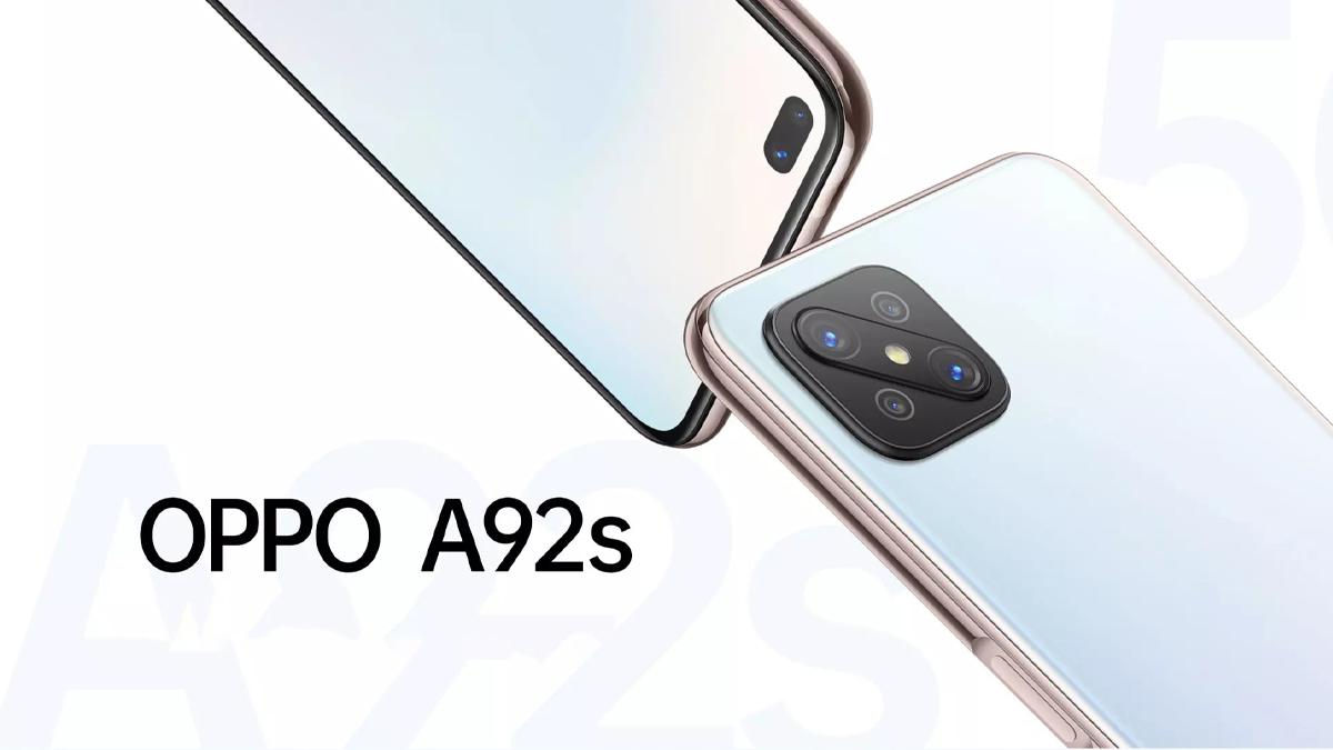 Oppo A92s je novinka s procesorem Dimensity 800