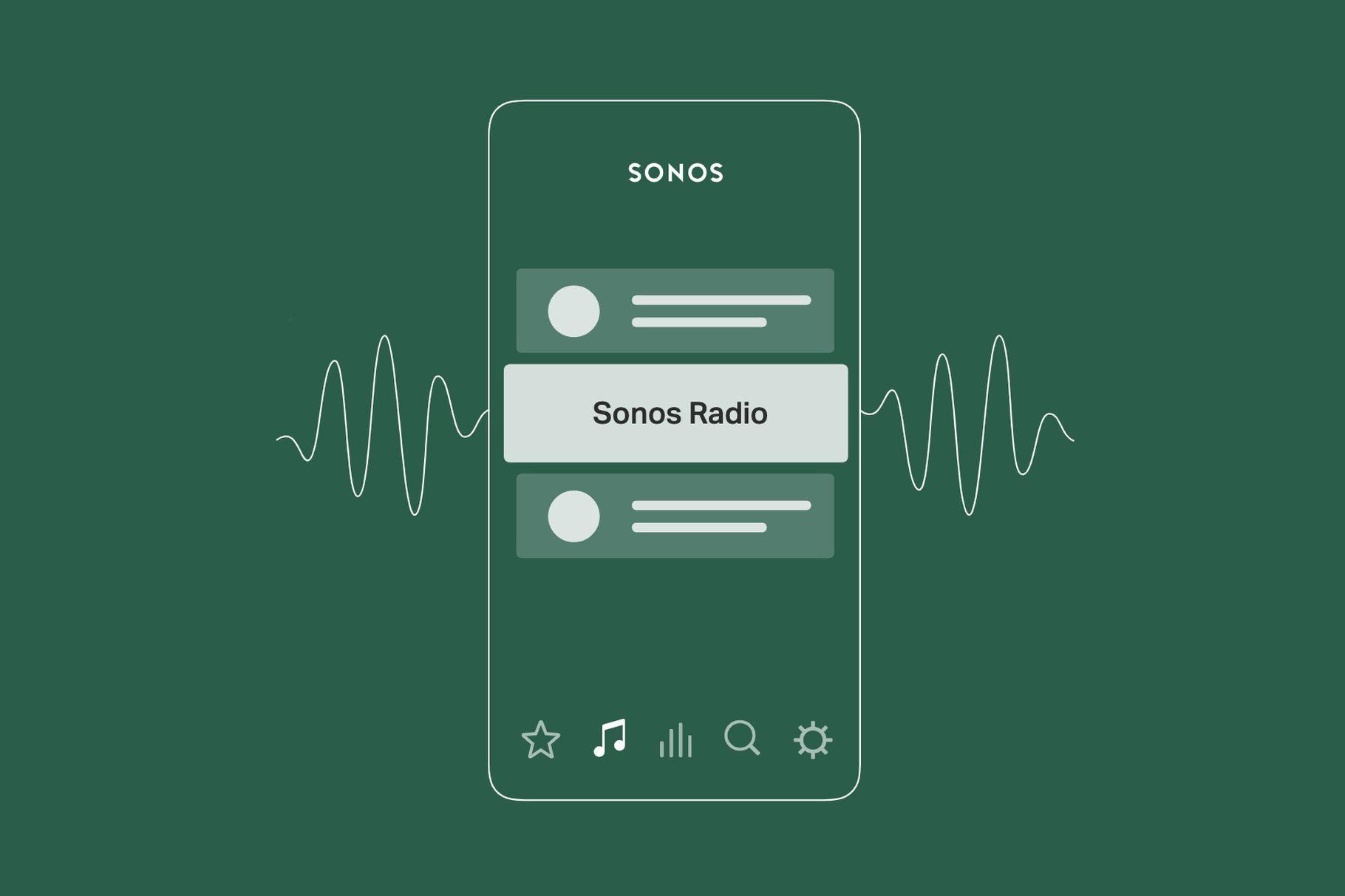 Sonos představil vlastní streamovací radio službu