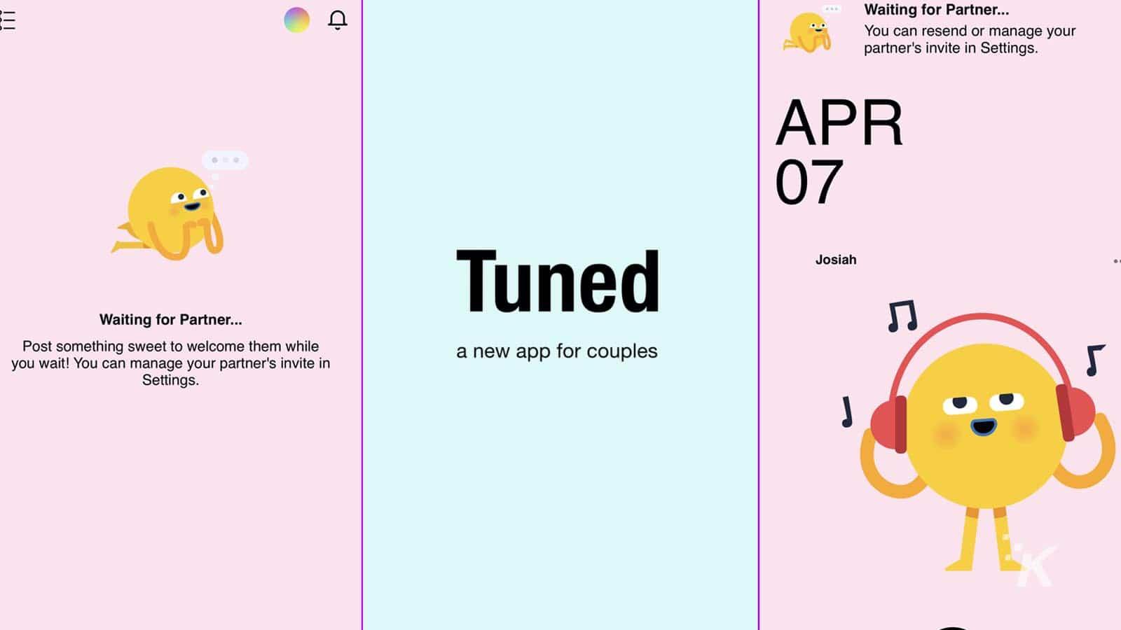 Tuned je nová aplikace pro páry od Facebooku