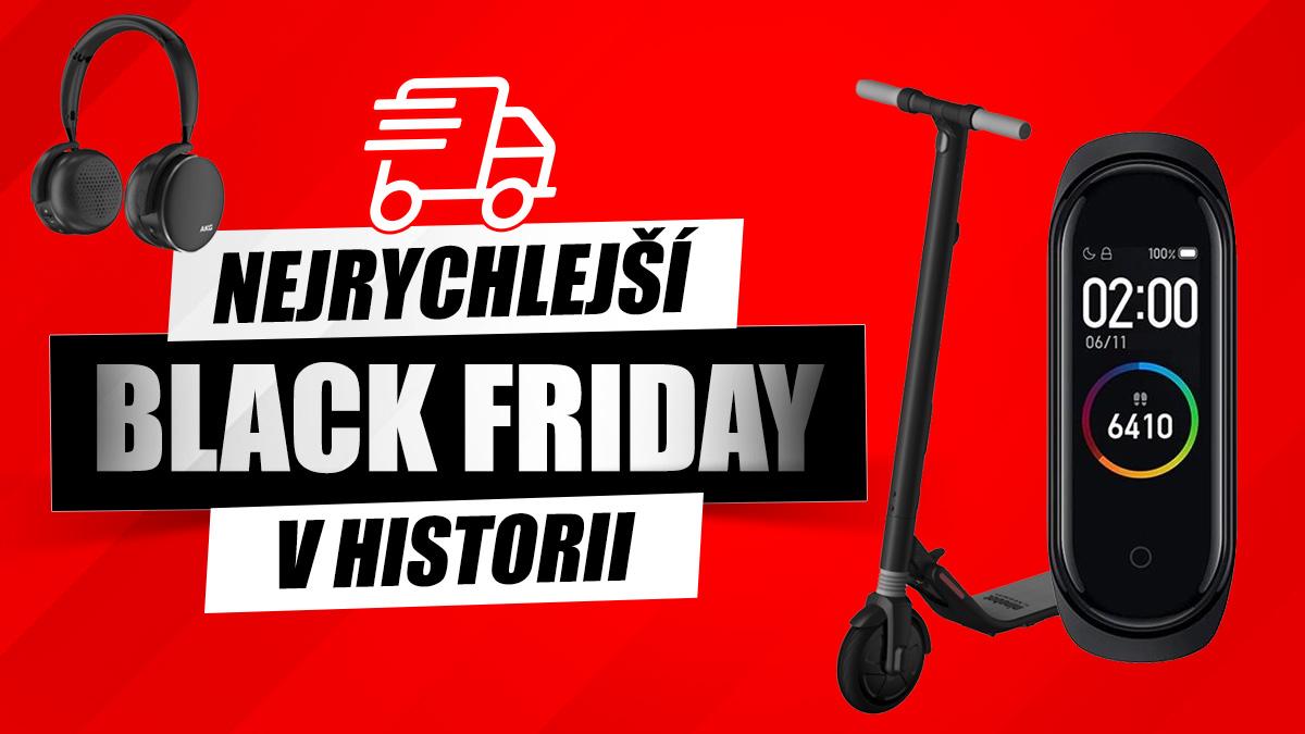 Nejrychlejší Black Friday v historii je tady [sponzorovaný článek]