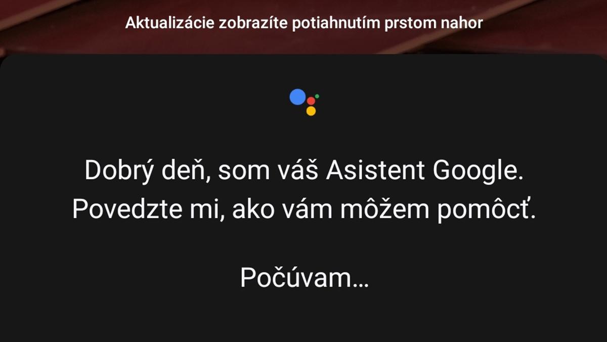 Google Asistent se chystá i pro Slovensko