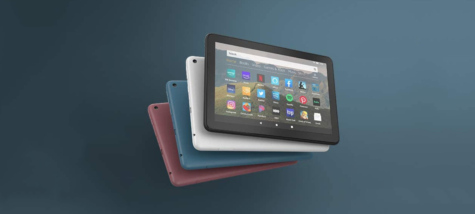 Amazon oznámil nové tablety Fire HD 8 2020
