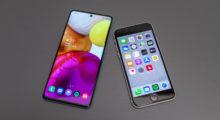 Duel střední třídy – Galaxy A71 vs iPhone SE 2020