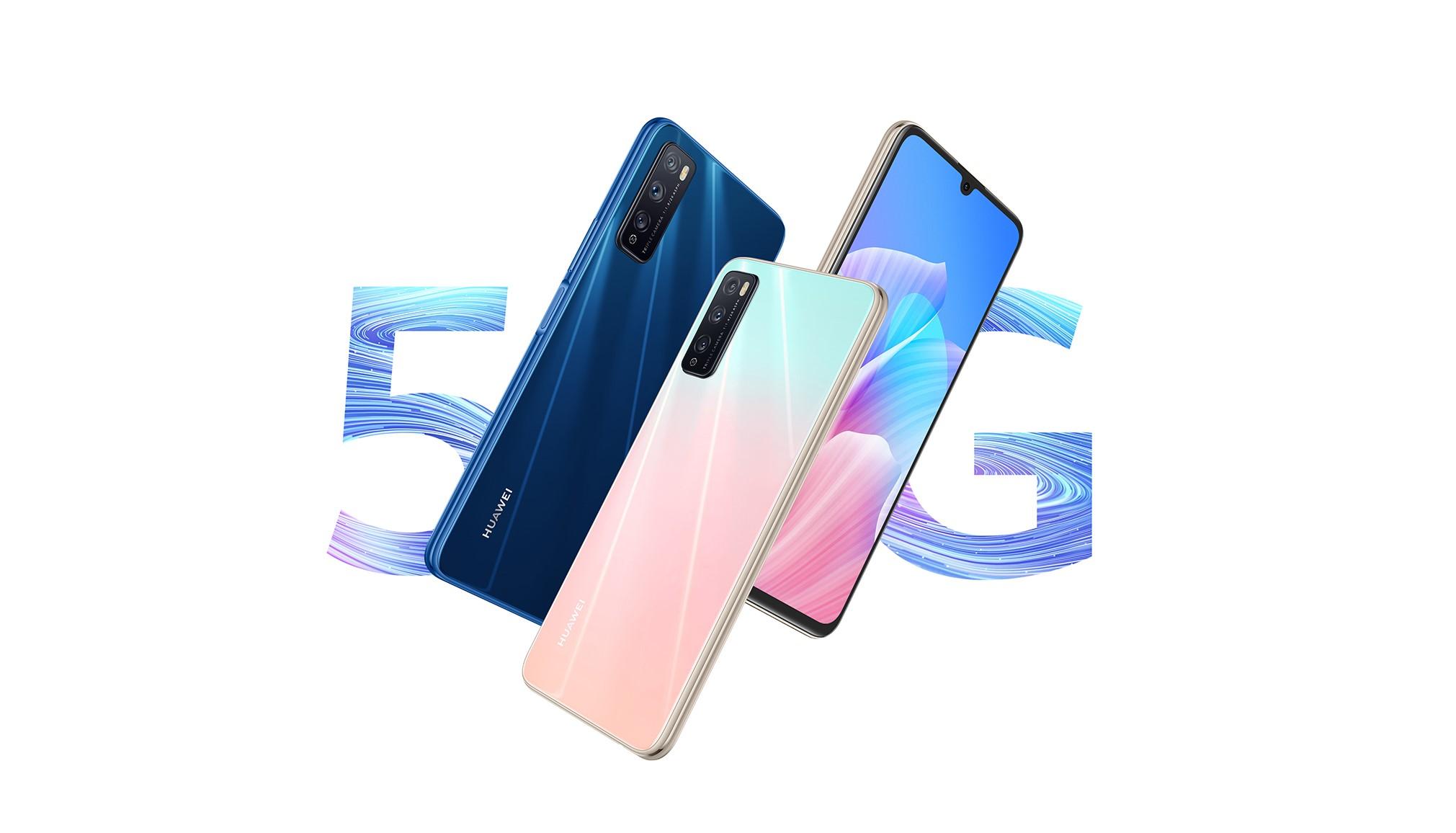 Huawei Enjoy Z 5G je novinka s procesorem Dimensity