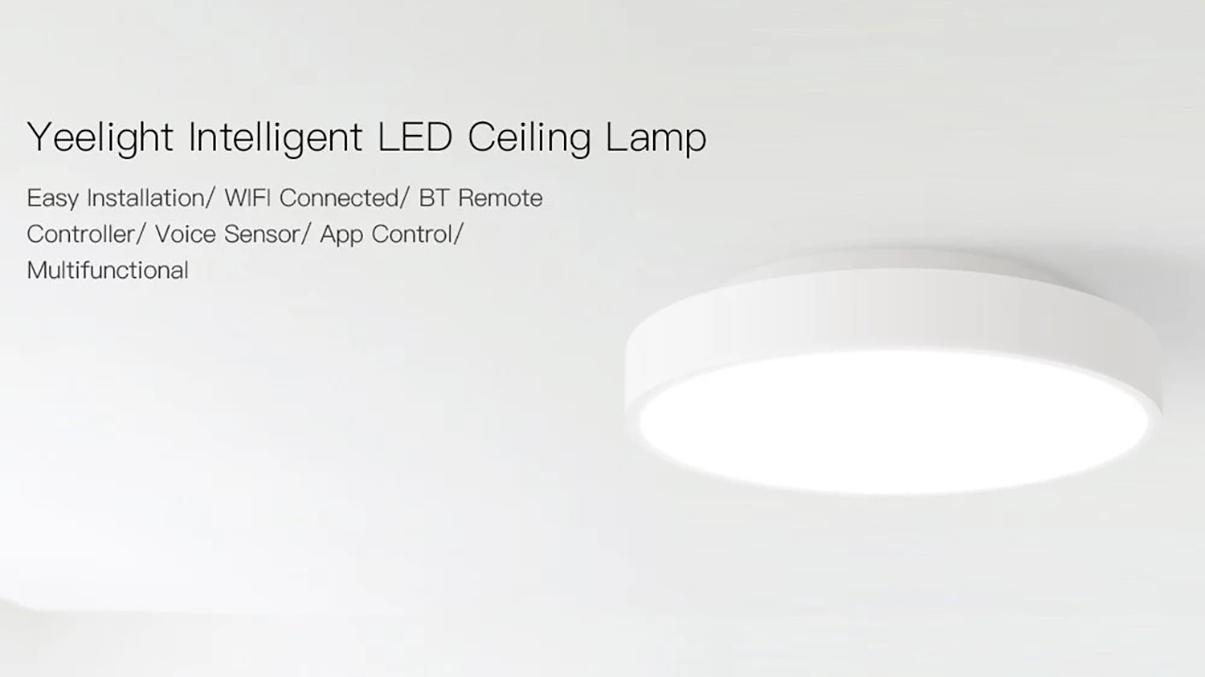Dvě světla Xiaomi Yeelight ve slevě na Cafago.com [sponzorovaný článek]
