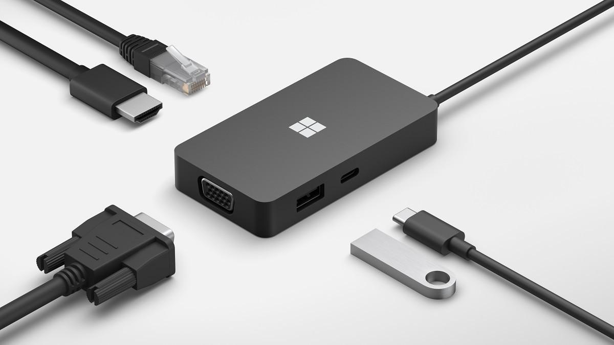Microsoft uvedl na trh také nové USB-C doky