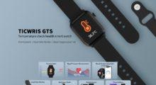 TICWRIS GTS aneb Osobní zdravotní COVID-19 poradce na zápěstí jen za 29,9 dolarů [sponzorovaný článek]