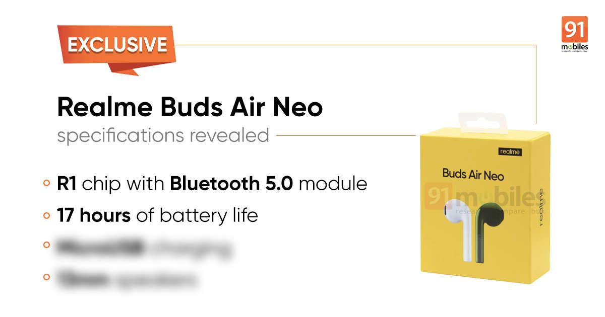 Realme Buds Air Neo 1 1200x630x