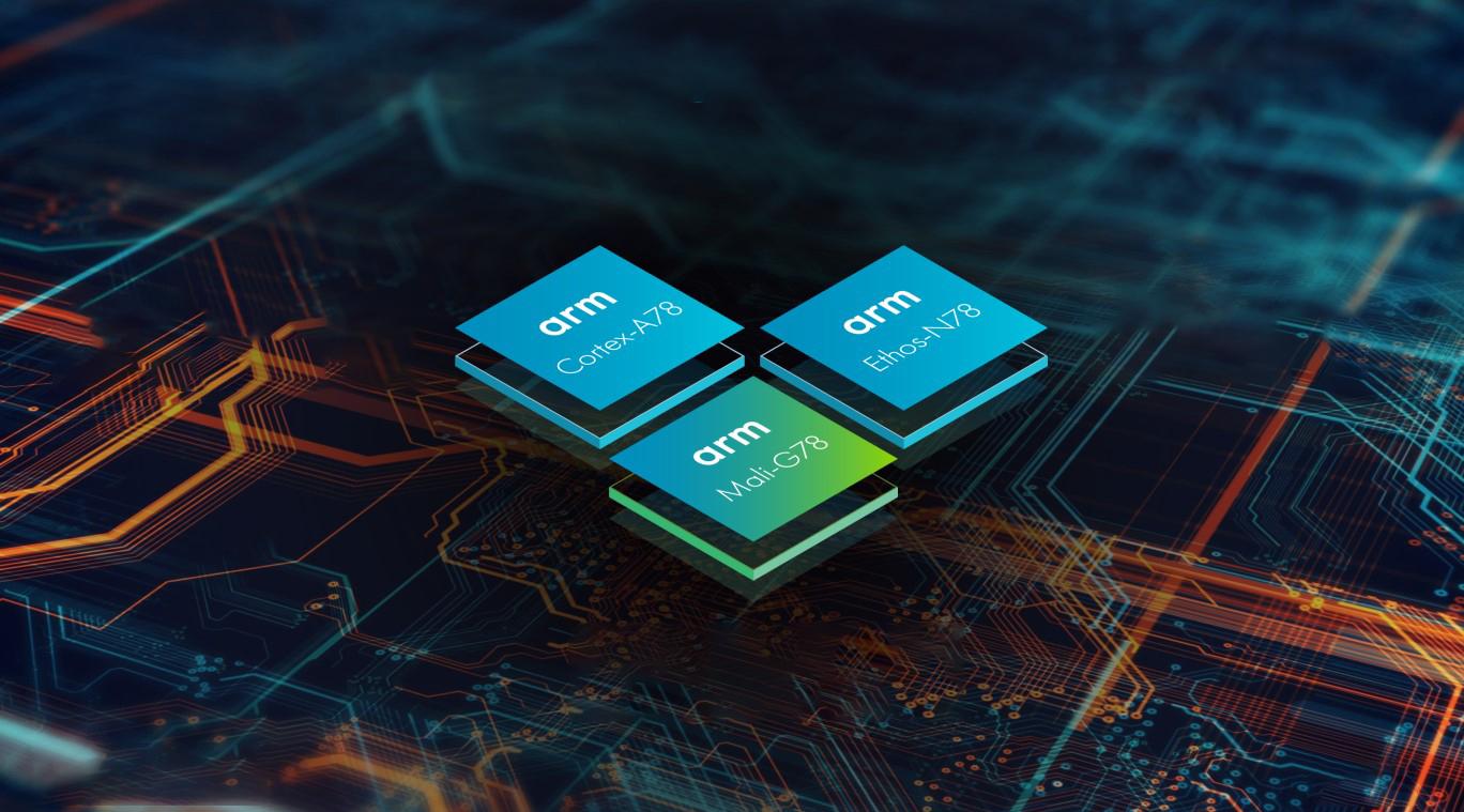 Mobily budou výkonnější a efektivnější díky Cortex A78