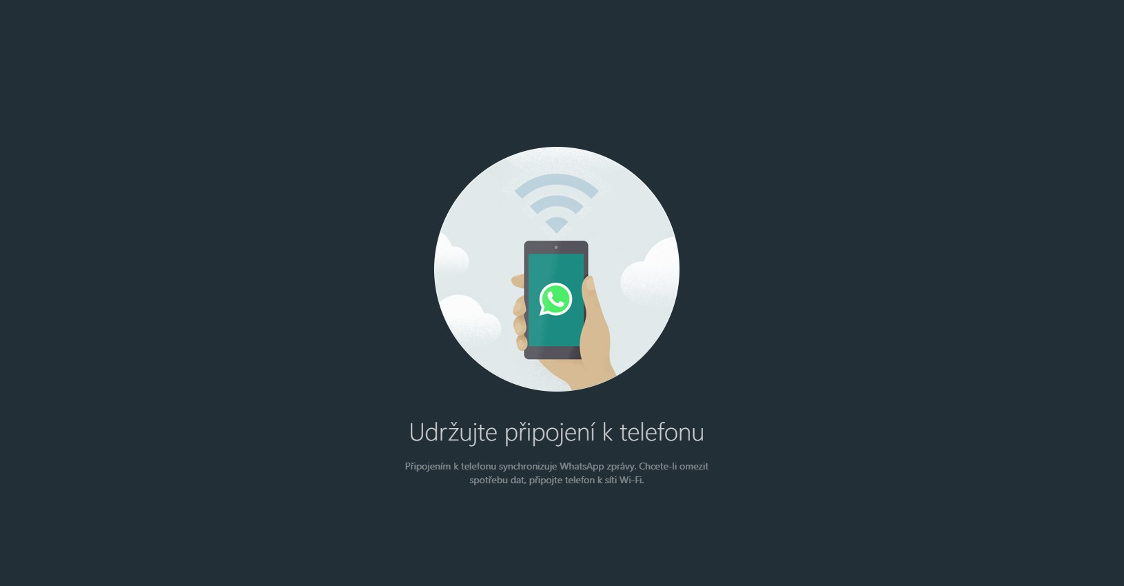 WhatsApp – trik na aktivaci tmavého režimu u webové verze