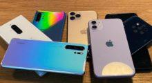Trh s chytrými telefony se propadá zatím o 13 %