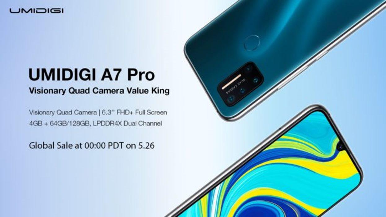 Umidigi brzy spustí prodej u A7 Pro