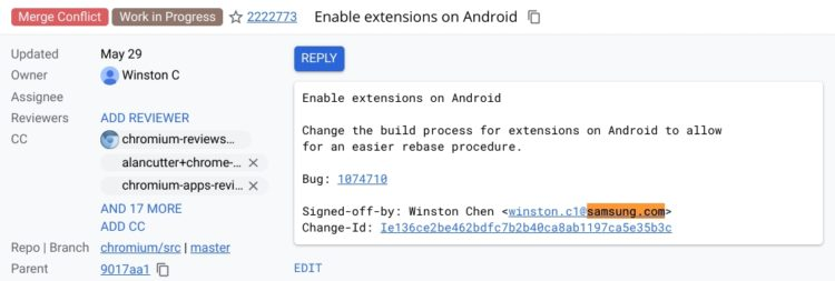 chromium android extensions samsung 1030x347x