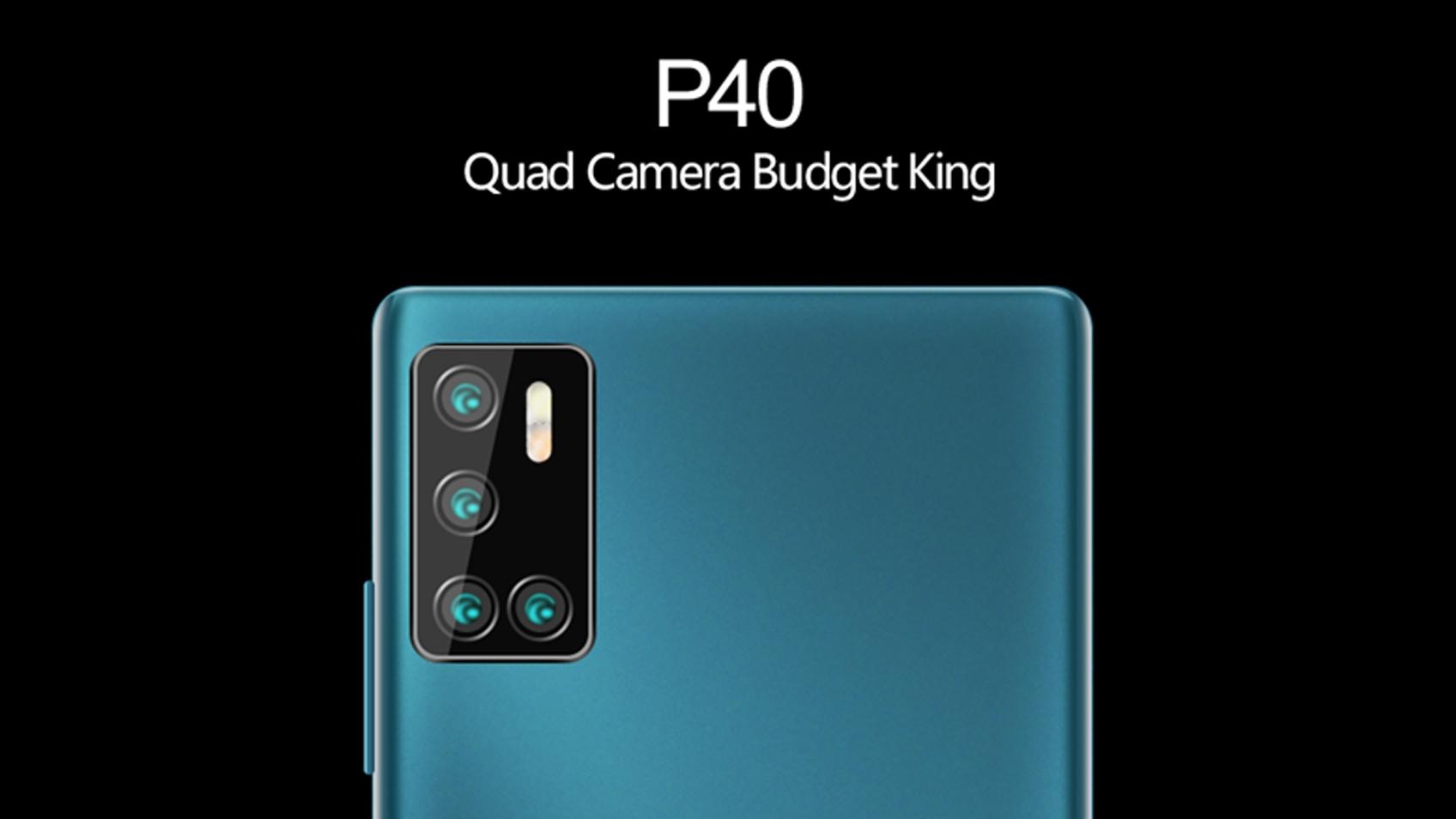 Král dostupných telefonů se čtyřmi foťáky Cubot P40 má dorazit již 18. května [sponzorovaný článek]