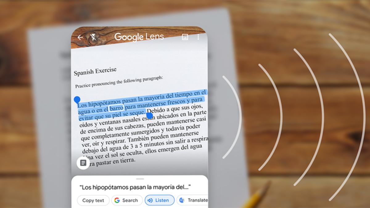 Aplikace Google Lens v nové podobě