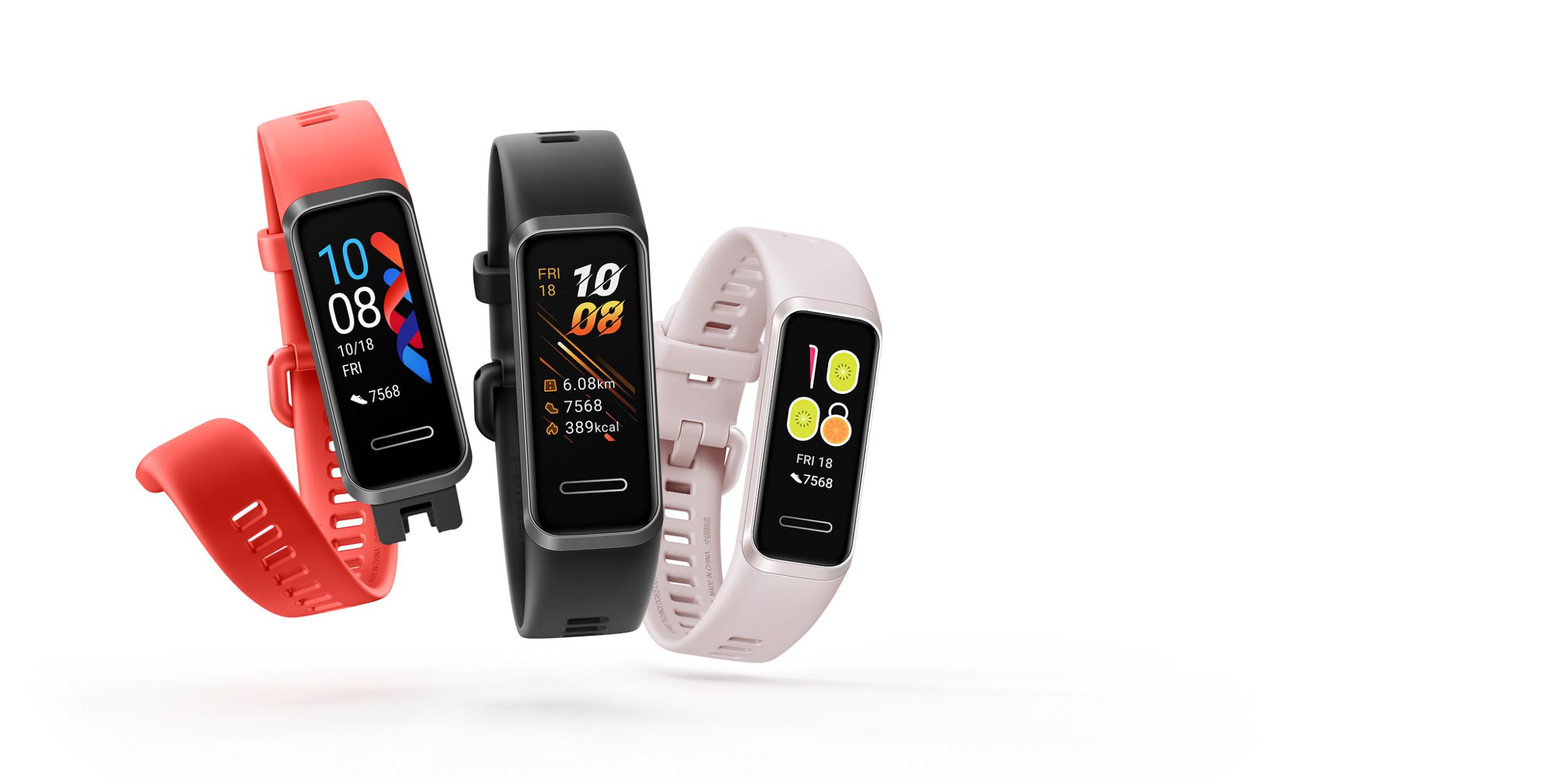 Huawei Band 4 získal podporu SpO2