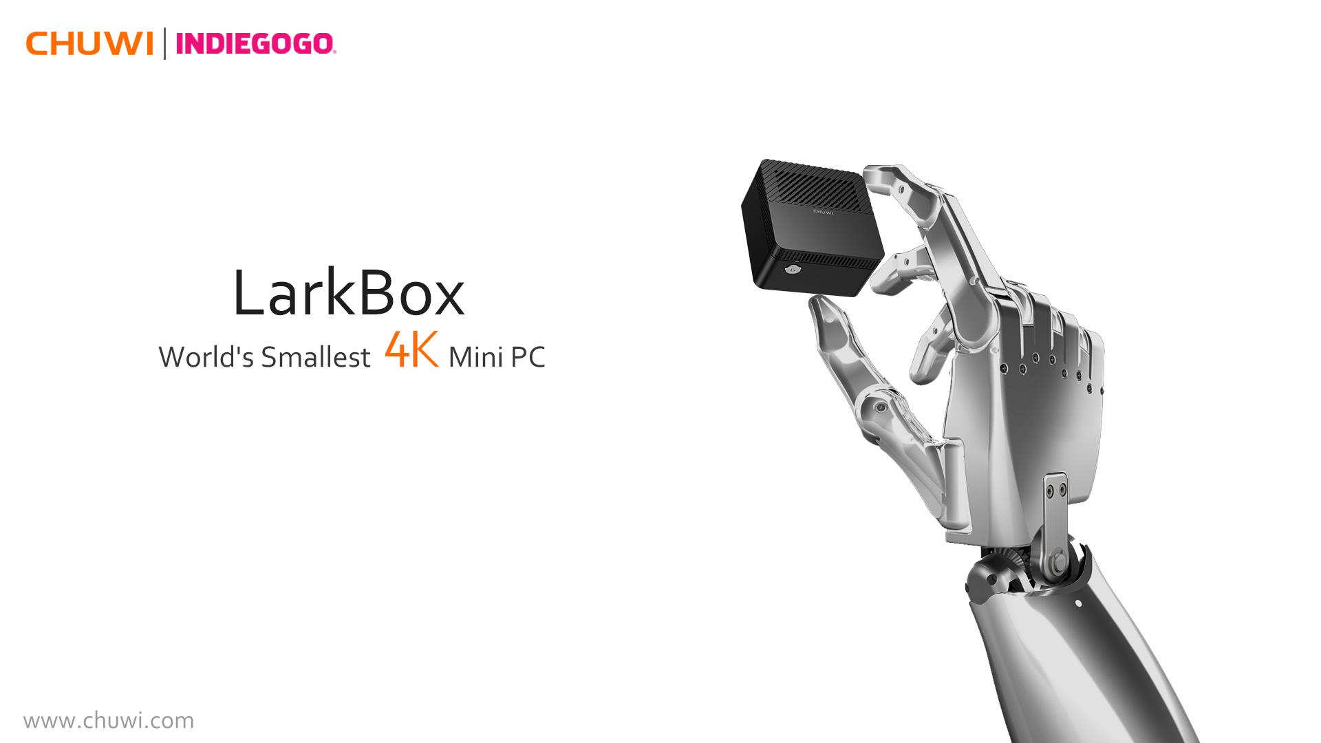 Nejmenší 4K Mini PC LarkBox od CHUWI je v prodeji! [sponzorovaný článek]